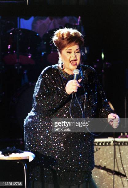 Etta James at The 1993 Rock And Roll Hall of Fame at The Century Plaza on January 12th 1993 in Los Angeles CA