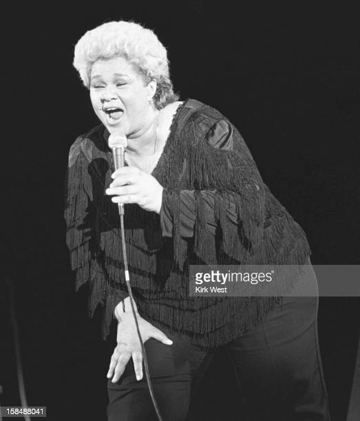 Etta James performs at the Chicago Blues Fest Chicago Illinois June 9 1985
