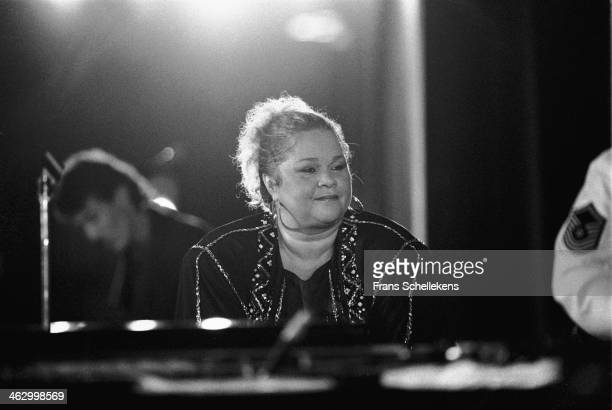 Etta James performs at the North Sea Jazz Festival in the Hague the Netherlands on 12 July 1990