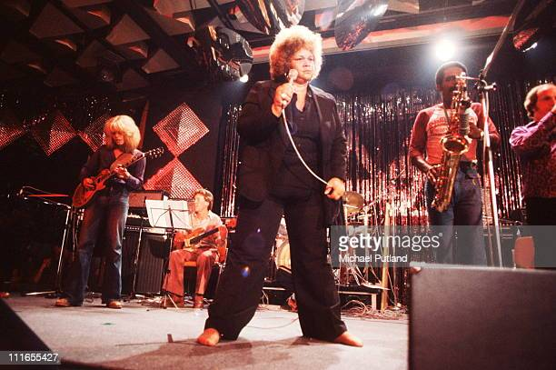 Etta James performs on stage at Montreux Jazz Festival 1977