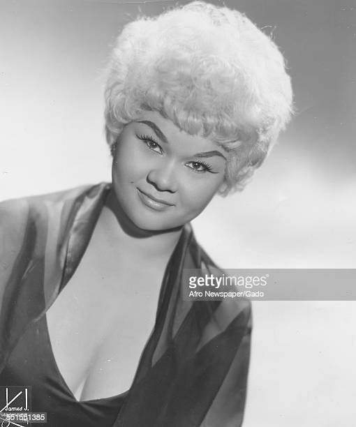 Etta James the singer songwriter a promotional picture January 3 1962