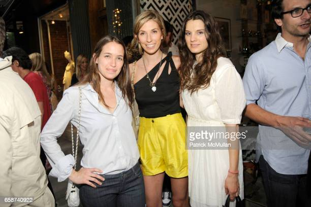 Etta Meyer Anastasia Rogers and Jessie Cohan attend HAUS INTERIOR Boutique Opening Party at Haus Interior on June 22 2009 in New York City