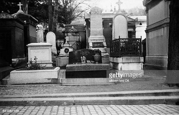 ette Sidonie Gabrielle *28011873Schriftstellerin FGrabmal auf dem Friedhof Pere Lachaisein Paris 1958