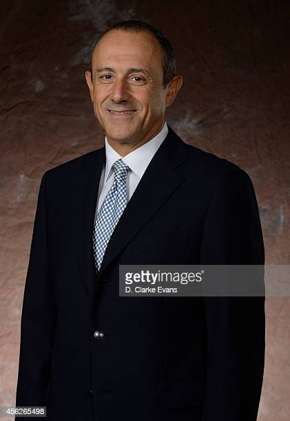 Ettore Messina Assistant Coach poses for a photograph during San Antonio Spurs Media Day at the Spurs Practice Facility on September 26 2014 in San...