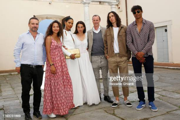 Ettore Neri guest Sherett Dahlstrom Annalisa Bugliani Peter Dahlstrom and guests attend the museum show opening for Rachel Lee Hovnanian's Open...