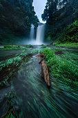 E-Tu waterfall, Bolaven Plateau, Champasak province, Laos