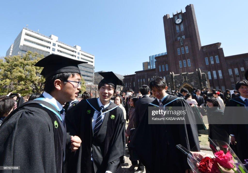 Cérémonie de remise des diplômes : ニュース写真