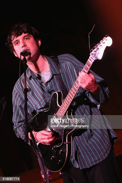 Euan Hinshelwood of Younghusband performs onstage at Under the Radar during the 2016 SXSW Music Film Interactive Festival at Central Presbyterian...
