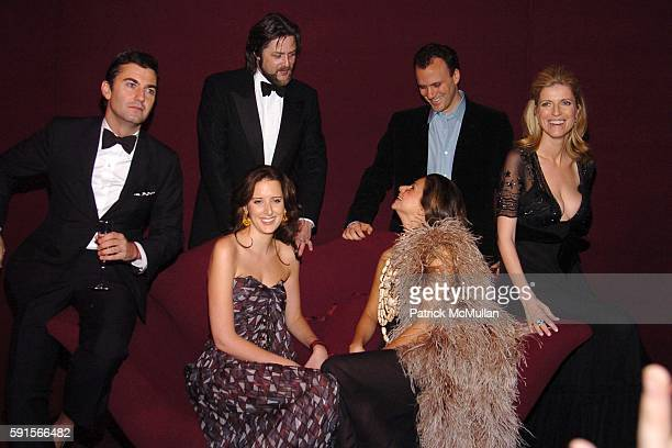 Euan Rellie Rufus Albemarle Jacqueline Sackler Eva Lorenzotti Mortimer Sackler Lucy Sykes Rellie and All wearing Yves Saint Laurent attend The 3rd...