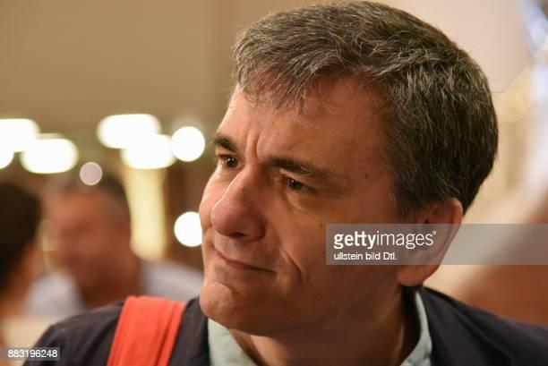 Euclid Tsakalotos Minister of Finance