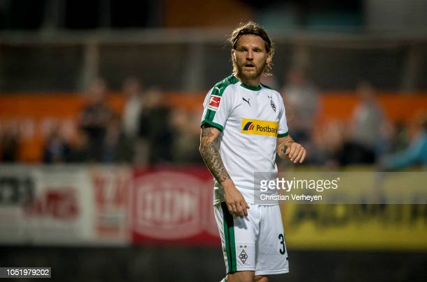 Eugen Polanski of Borussia Moenchengladbach during the friendly match between Wiener Sport-Club and Borussia Moenchengladbach at Wiener Sport-Club...