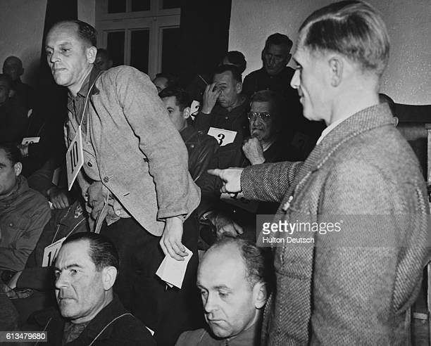 Eugen Seybolu identifies Doctor Fritz Hintermayer as the medic present at the mass execution of Russian prisoners of war