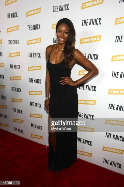 """Eugena Washington attends """"The Knick"""" special screening at The New York Academy Of Medicine on July 23, 2014 in New York City."""