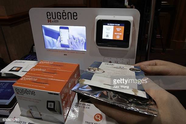 Eugene by UZER a device that can help to improve home trash recycling then shop online for replenishment with mobile app track daily consumption and...