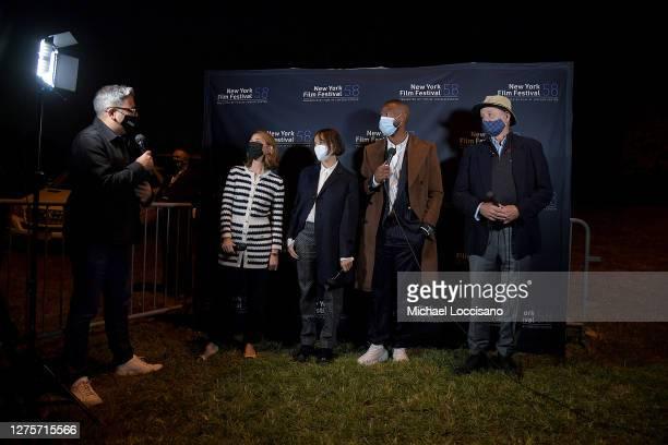 Eugene Hernandez, Director Sofia Coppola, Rashida Jones, Marlon Wayans, and Bill Murray attend the New York Film Festival 58 - Queens Drive-In...