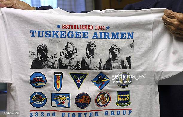 Eugene Jackson was a mechanic with the Tuskegee Airmen This is one of his mementoes