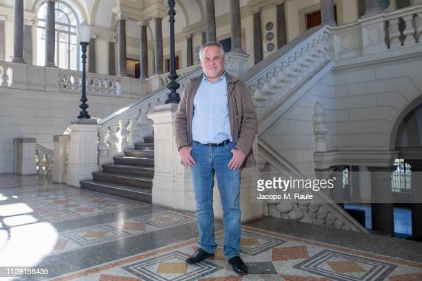 Eugene Kaspersky, CEO of Kaspersky Lab, poses after giving the Lectio Magistralis at Politecnico di Milano on the necessary move from Cybersecurity...
