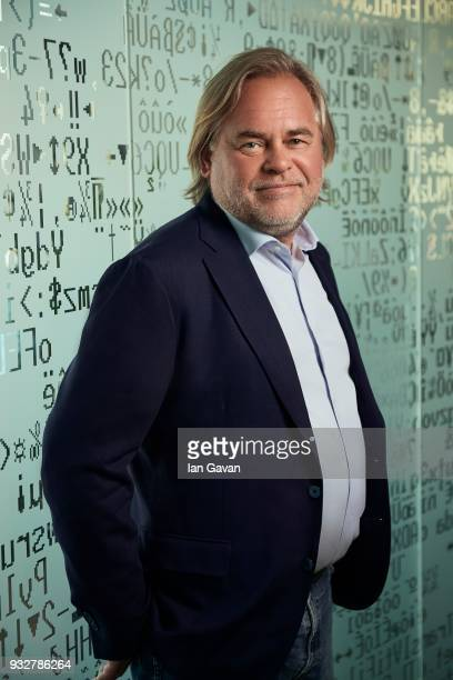 Eugene Kaspersky CEO of Kaspersky Lab poses during a portrait session on February 11 2018 in Moscow Russia