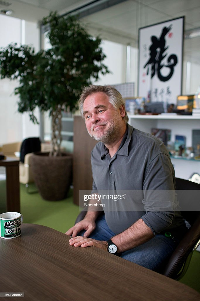 Eugene Kaspersky, founder and chief executive officer of Kaspersky Lab, reacts during an interview at his office in Moscow, Russia, on Tuesday, Dec. 9, 2014. 'Hackers have become capable of carrying out very advanced attacks,' Kaspersky said. Photographer: Alexander Zemlianichenko Jr./Bloomberg via Getty Images