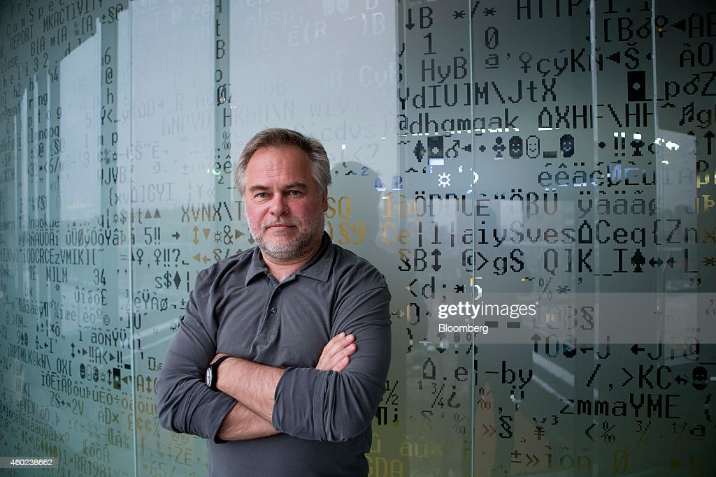 Eugene Kaspersky, founder and chief executive officer of Kaspersky Lab, poses for a photograph at his office in Moscow, Russia, on Tuesday, Dec. 9, 2014. 'Hackers have become capable of carrying out very advanced attacks,' Kaspersky said. Photographer: Alexander Zemlianichenko Jr./Bloomberg via Getty Images