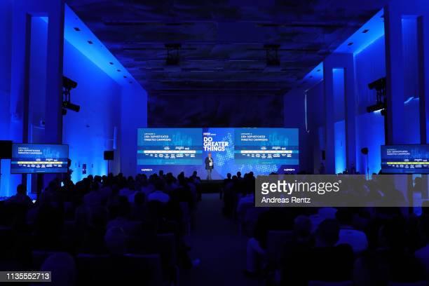 Eugene Kaspersky,CEO of Kaspersky Lab speaks during the Kaspersky Lab European Strategic Session on March 11, 2019 in Split, Croatia.