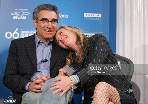 Eugene Levy and Catherine O'Hara during 31st Annual Toronto International Film Festival 'For Your Consideration' Press Conference at Sutton Place in...