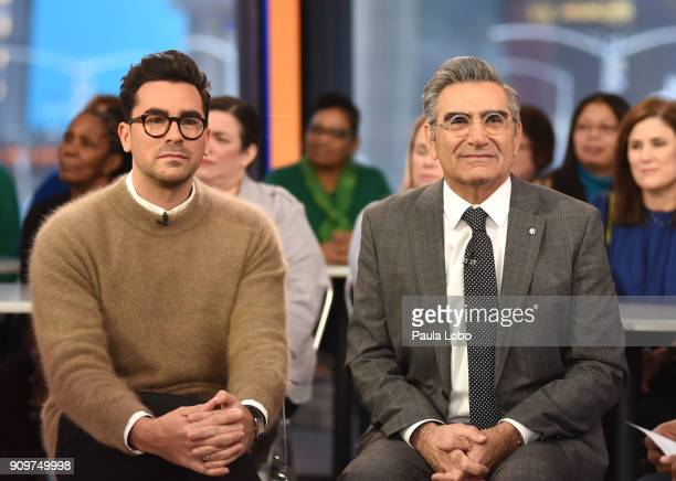 AMERICA Eugene Levy and Dan Levy are guests on 'Good Morning America' Wednesday January 24 airing on the ABC Television Network DAN