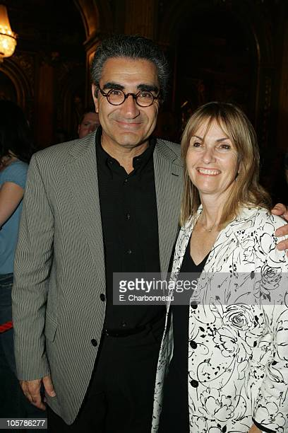 Eugene Levy and Deborah Divine during 2005 Toronto Film Festival Buena Vista Pictures' Shopgirl Dinner at The Elgin Theater in Toronto ONT Canada