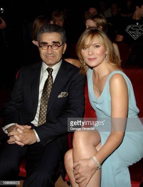 Eugene Levy and Kim Cattrall during The 4th Annual It's Always Something Variety Show in Support of Gilda's Club Greater Toronto at Elgin Theatre in...