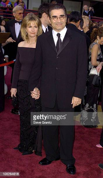 Eugene Levy and wife Deborah Divine during The 76th Annual Academy Awards Arrivals at The Kodak Theater in Hollywood California United States
