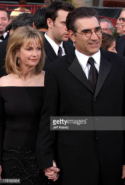 Eugene Levy and wife Deborah Divine during The 76th Annual Academy Awards Arrivals by Jeff Kravitz at Kodak Theatre in Hollywood California United...