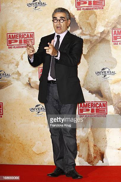 Eugene Levy at photocall for the movie American Pie Reunion in Berlin on 29th of March