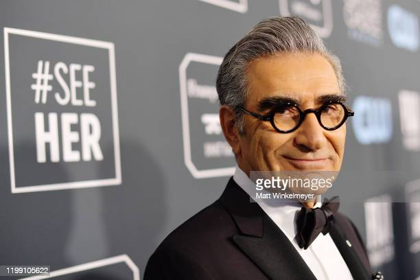 Eugene Levy attends the 25th Annual Critics' Choice Awards at Barker Hangar on January 12, 2020 in Santa Monica, California.