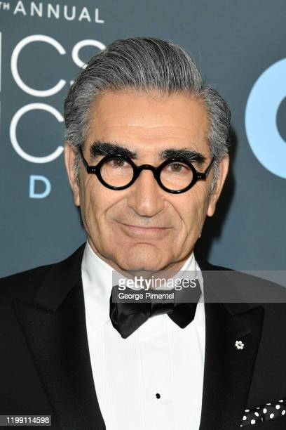 Eugene Levy attends the 25th Annual Critics' Choice Awards held at Barker Hangar on January 12, 2020 in Santa Monica, California.