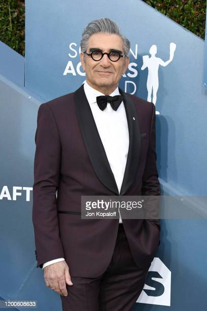 Eugene Levy attends the 26th Annual Screen ActorsGuild Awards at The Shrine Auditorium on January 19, 2020 in Los Angeles, California.