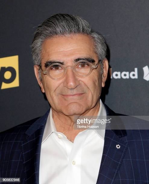 Eugene Levy attends the premiere of Pop TV's 'Schitt's Creek' season 4 at ArcLight Hollywood on January 16 2018 in Hollywood California