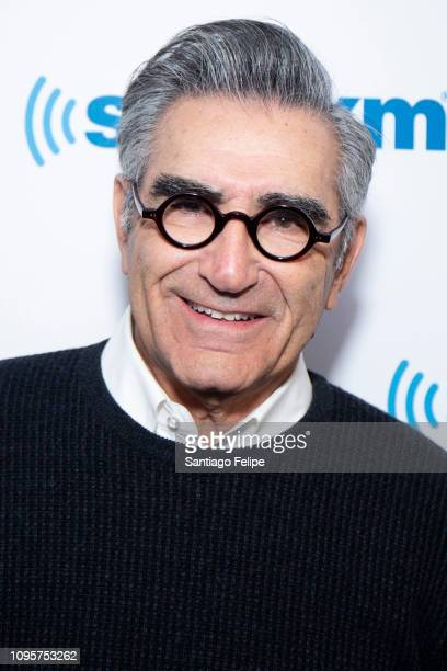 Eugene Levy visits SiriusXM Studios on January 17 2019 in New York City