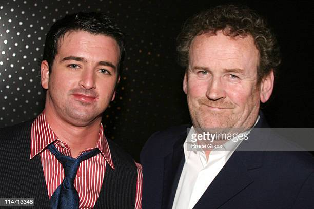 Eugene O'Hare and Colm Meaney during Opening Night Curtain Call and Press Room for A Moon for the Misbegotten April 9 2007 at The Brooks Atkinson...