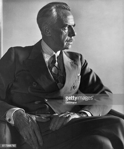 Eugene O'Neill, , American playwright and winner of the Pulitzer Prize for drama and the Nobel Prize for literature. Undated photograh.