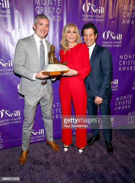 Eugene O'Neill Theater Center Executive Director Preston Whiteway honoree Judith Light and Thomas Kail attend the 17th Annual Monte Cristo Award at...