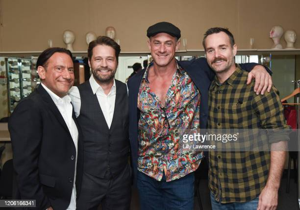 "Eugene pack, Jason Priestly, Chris Maloney, and Will Forte attend The Groundlings Theatre In LA Hosts ""Celebrity Autobiography"" at The Groundlings..."