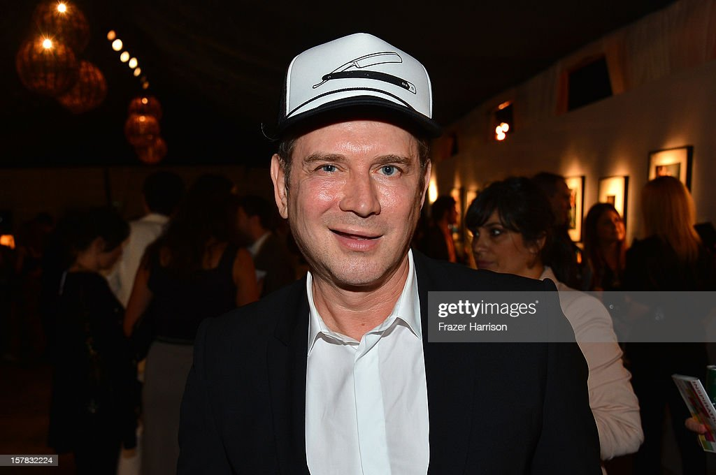 Eugene Sadovoy attends the amfAR Inspiration Miami Beach Party on December 6, 2012 in Miami Beach, United States.