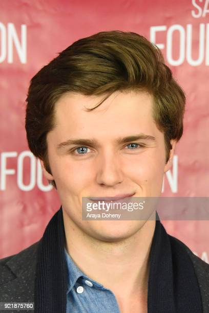 Eugene Simon attends the SAGAFTRA Foundation Conversations screening of 'The Lodgers' at SAGAFTRA Foundation Screening Room on February 20 2018 in...