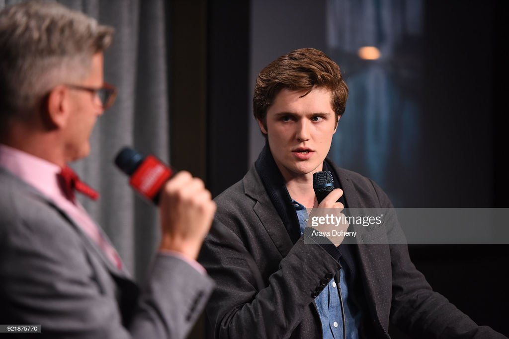 Eugene Simon attends the SAG-AFTRA Foundation Conversations - screening of 'The Lodgers' at SAG-AFTRA Foundation Screening Room on February 20, 2018 in Los Angeles, California.
