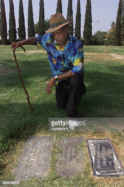 Eugene Taylor who has loved ones buried at Paradise Memorial Park in Santa Fe Springs is outraged over the disinterred bodies illegally resold...