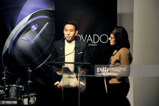 Eugene Tong and attend MOVADO Presents The Night Of Discovery at Visual Arts Gallery at the School of Visual Arts on December 6 2010 in New York City