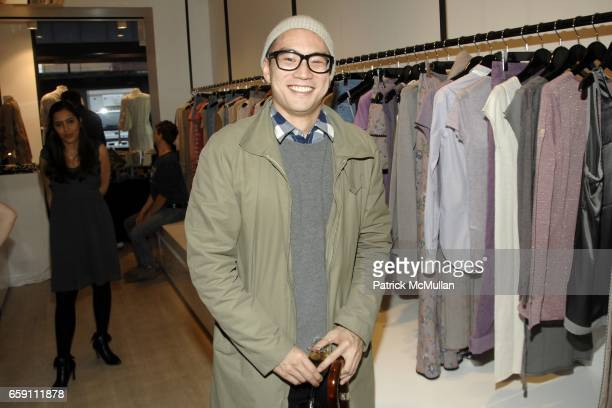 Eugene Tong attends ZADIG VOLTAIRE New York City Store Opening at Zadig Voltaire on April 6 2009 in New York City