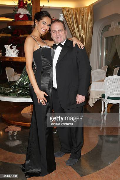 Eugenia Chernyshova and Pascal Vicedomini attend the first day of the 14th Annual Capri Hollywood International Film Festival on December 27, 2009 in...
