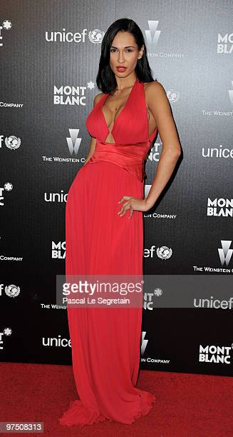 Eugenia Chernyshova arrives at the Montblanc Charity Cocktail Hosted By The Weinstein Company To Benefit UNICEF held at Soho House on March 6 2010 in...
