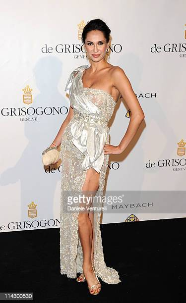 Eugenia Chernyshova attends the de Grisogono Party at the Hotel du Cap during the 64th Cannes Film Festival on May 17 2011 in Cap d'Antibes France